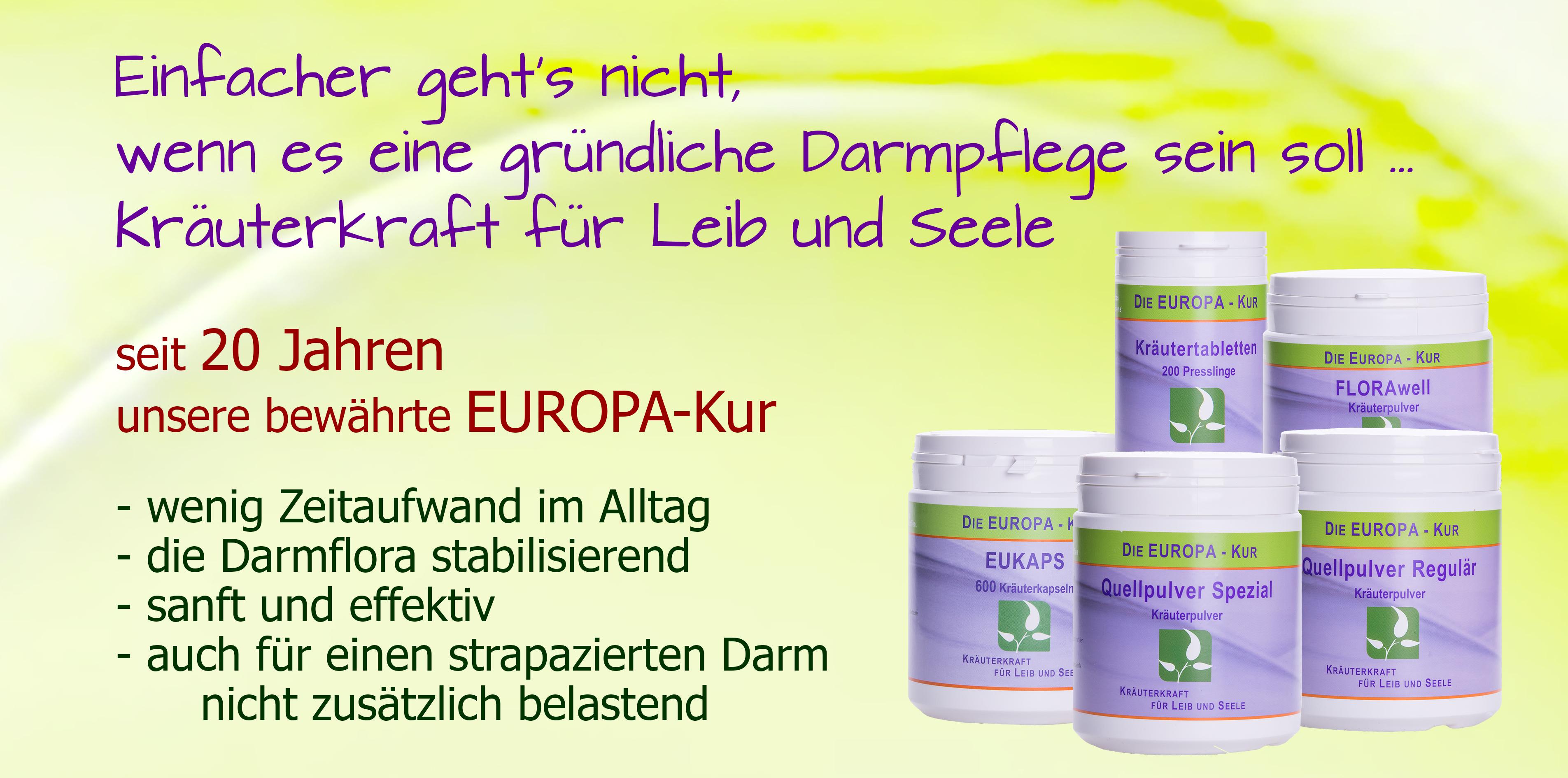 EU-Darmpflege