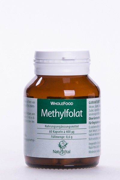 Methylfolat, 60 VegiKaps