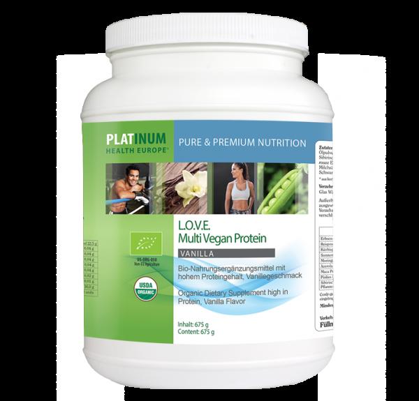 L.O.V.E. Multi Vegan Protein Vanilla (BIO)