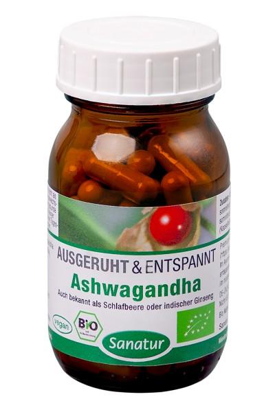 Ashwagandha BIO, 60 VegiKaps