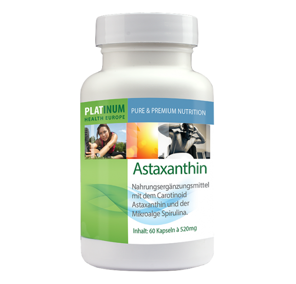 Astaxanthin, 60 VegiKaps á 520 mg