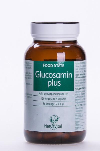 Glucosamin plus, 120 VegiKaps