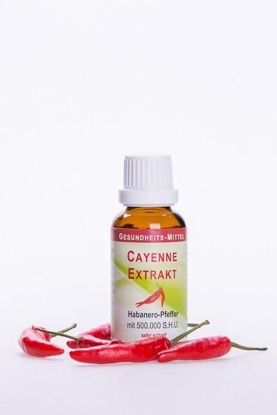 Cayenne-Extrakt, 500.000 S.H.U.