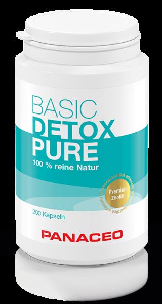 Panaceo Basic Detox Pure, 200 VegiKaps
