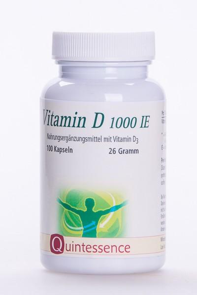 Vitamin D3 1000 I.E., 100 VegiKaps
