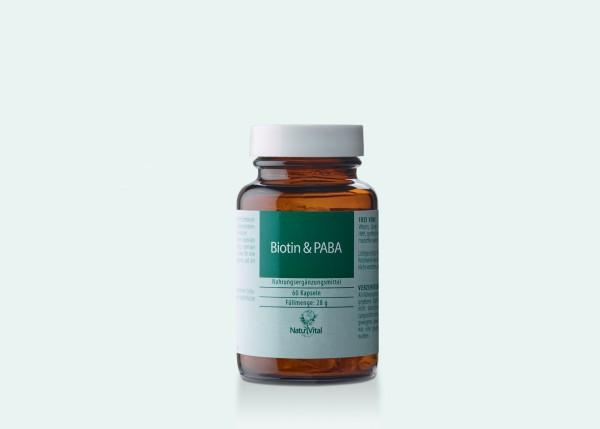 Biotin & PABA, 60 Vegikaps.
