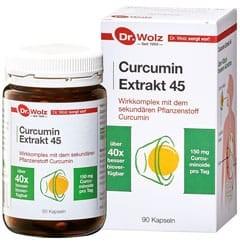 Curcumin Extrakt 45, 90 VegiKaps