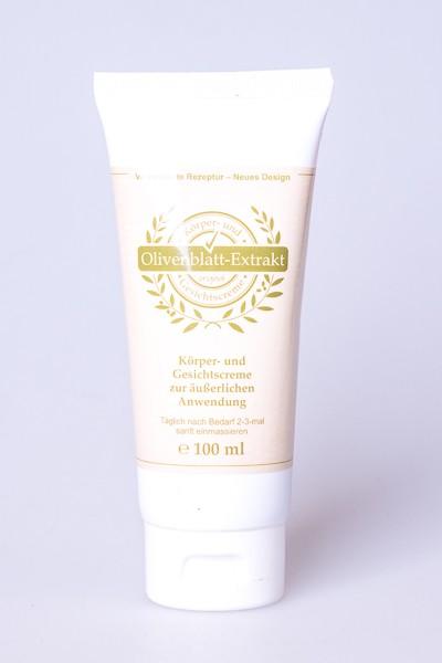 Olivenblattextrakt Creme