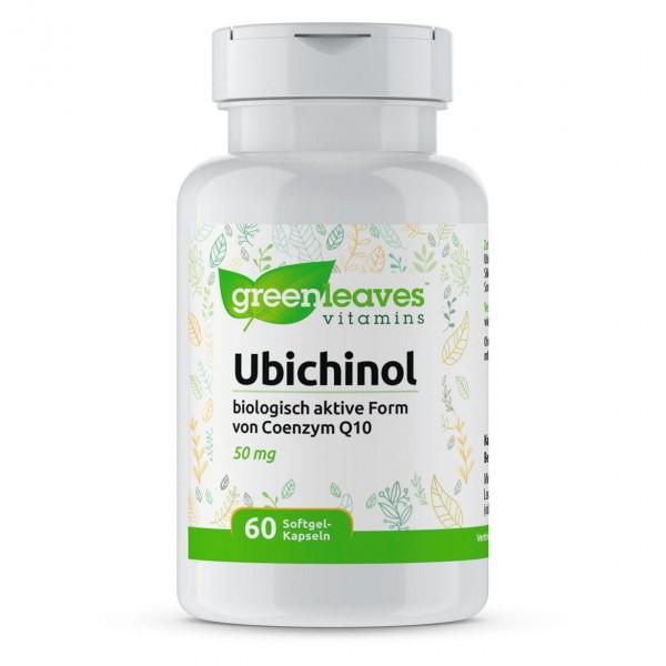 Ubichinol, 60 Softgel-Kapseln
