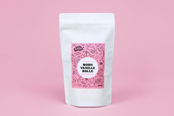 Mohn-Vanille-Rolle (BIO)