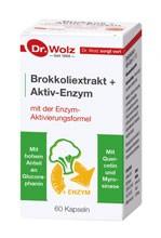 Brokkolieextrakt + Aktiv-Enzym, 60 VegiKaps