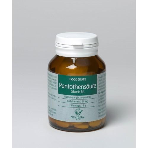 Pantothensäure (Vitamin B5), 60 Tbl.