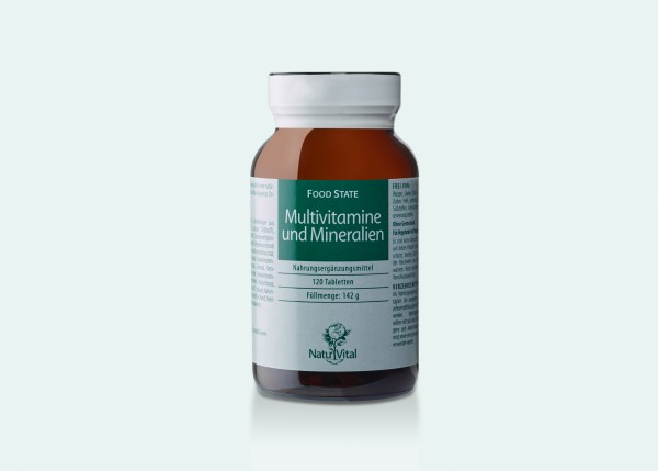 Multivitamine & Mineralien, 120 Tbl.