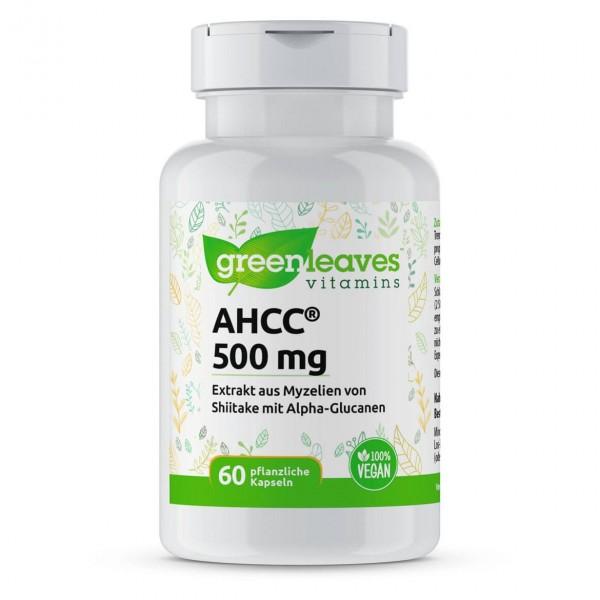AHCC® 500 mg, 60 VegiKaps